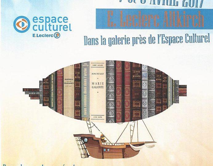 Salon du Livre – E. Leclerc à Altkirch Alsace