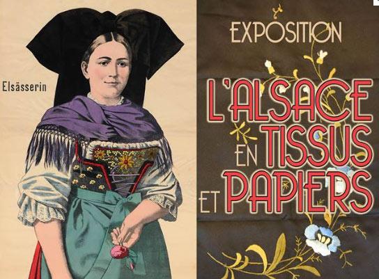 Vernissage l'Alsace en Tissus et Papiers