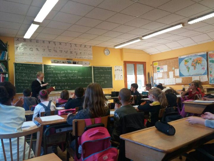 Intervention scolaire à l'école Lepuix