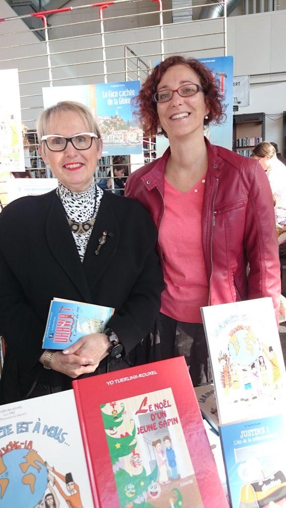 Yo et la conseillère pédagogique Alexia Demarchi