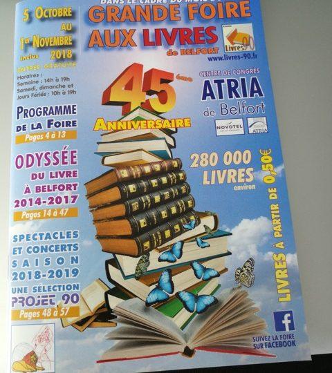 Salon du Livre à Belfort